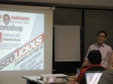 workshop seo jakarta SEOLicious 1